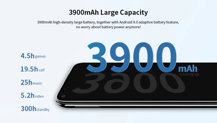 OUKITEL C17 Pro Battery