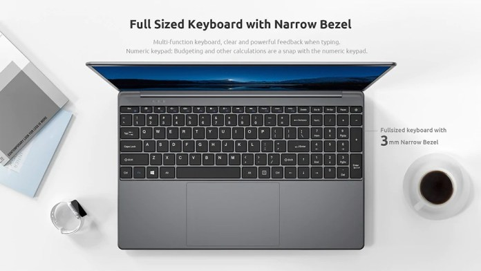 BMAX MaxBook S15 Laptop Keyboard