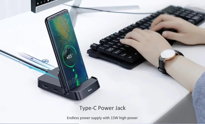 Baseus 7 in 1 Type-C Docking Station usb charging