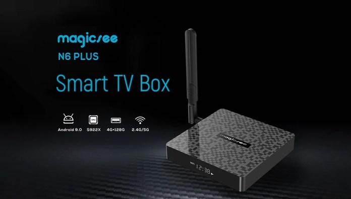 MagicSee N6 Plus Android TV Box
