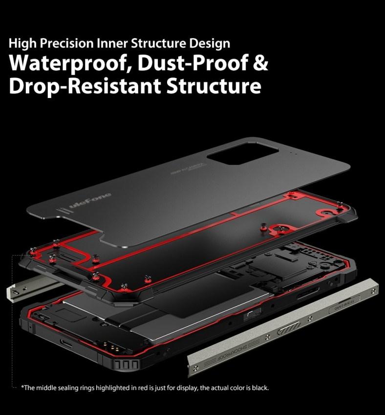 Ulefone Armor 7 Rugged Smartphone built