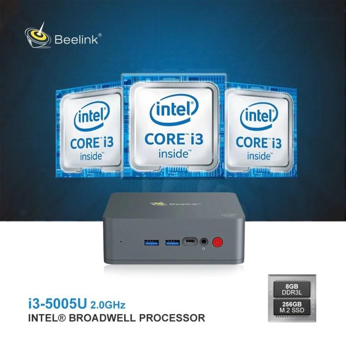 Beelink U55 Mini PC cpu