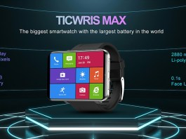 Ticwris Max smartwatch