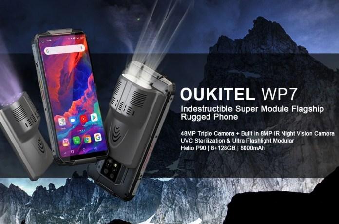 oukitel WP7 Rugged smartphone