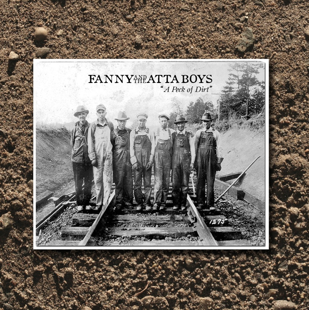 Fanny And The Atta Boys A Peck Of Dirt Album Cover Art