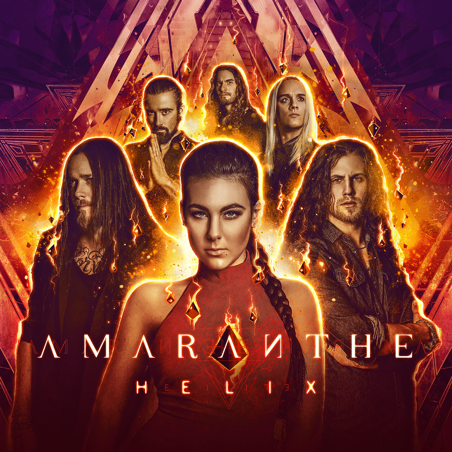 Fall October Wallpaper Amaranthe Helix Review Angry Metal Guy