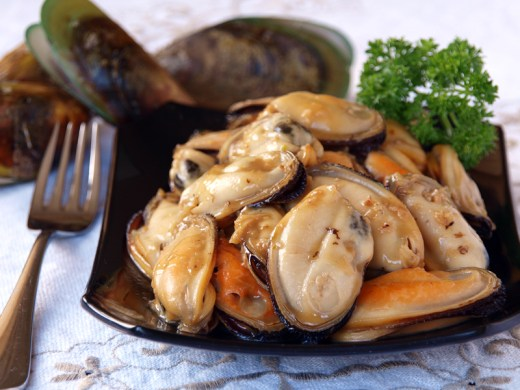 Butter Garlic Mussels