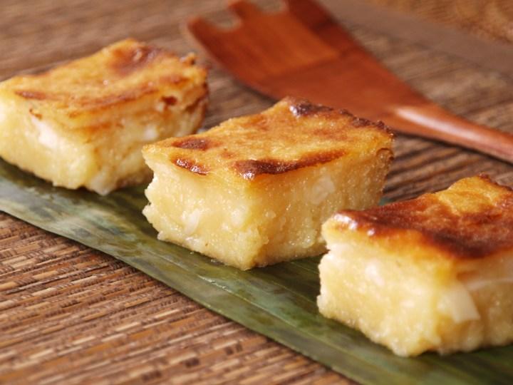 Cassava Cake (Mom's Version)