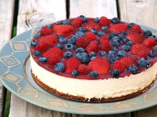 Mixed Berries Cheesecake 1