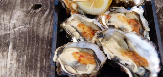 Oysters on the Half Shell served with Sweet Chilli and Lemon