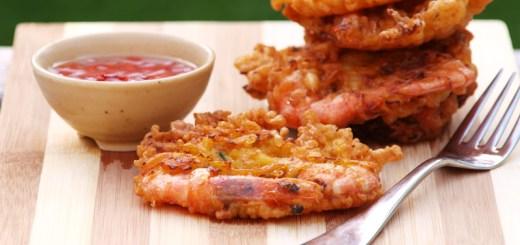 Ukoy (Shrimp Fritters)