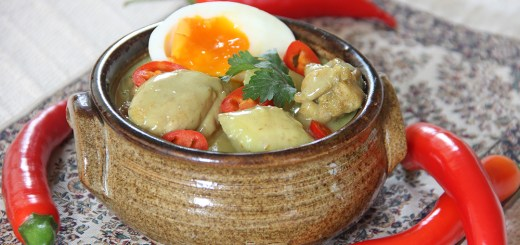Chicken, Banana, Egg and Honey Curry