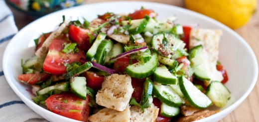 Guest Post : Katherine Martinelli featuring Fattoush 1