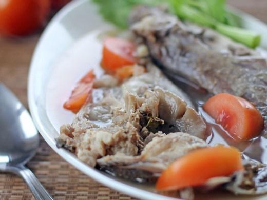 Sinigang na Ulo (Fish Head in Tamarind Broth) 2