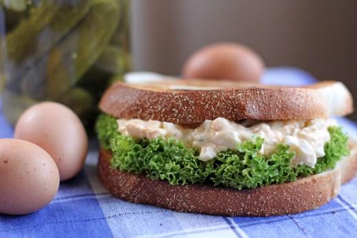 Egg Mayonnaise Sandwich