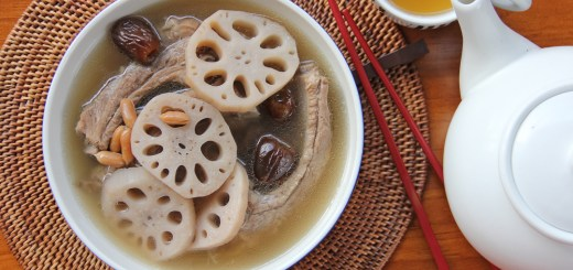 Pork Rib and Lotus Root Soup