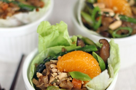 Vegetable Lettuce Wraps 1