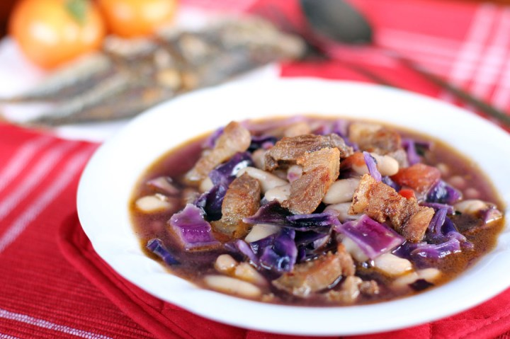 Cabbage and Cannellini Bean Stew Wide