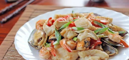 Mixed Seafood in Oyster Sauce 2