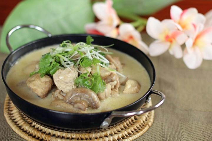 Thai Green Chicken Curry Wide