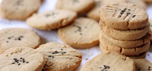 Tahini and Almond Cookies 1