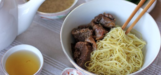 Dry Beef Noodle Soup 1