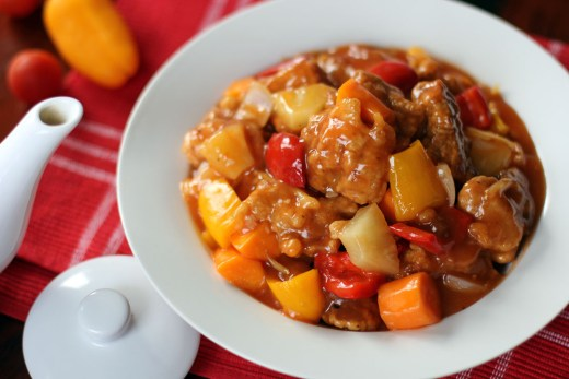 Sweet and Sour Pork 1