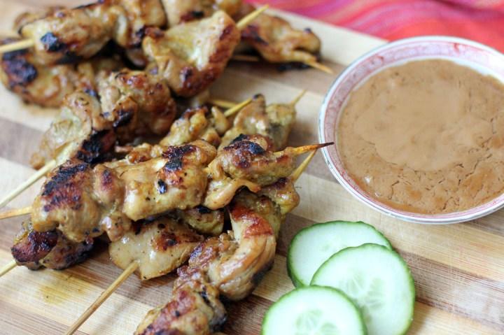 Chicken Satay Wide