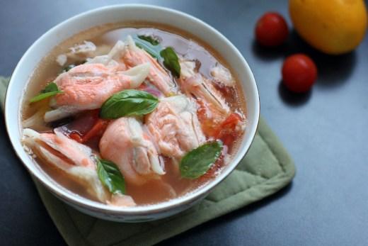 Salmon Fin Soup 2