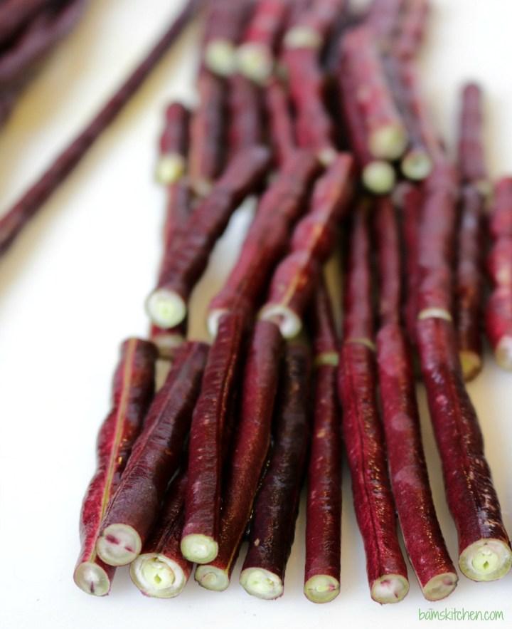 Adobong Pulang Sitaw Long RED Beans_IMG_6521