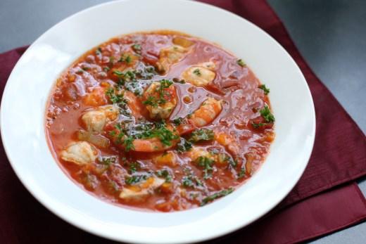 Sicilian Fish Soup 2