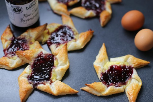 Boysenberry and Custard Danish 1