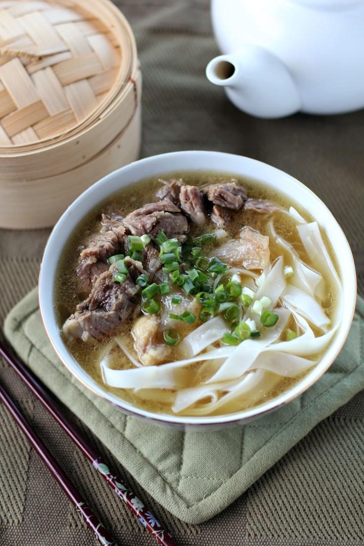 Kau Kee Beef Brisket Noodle Soup