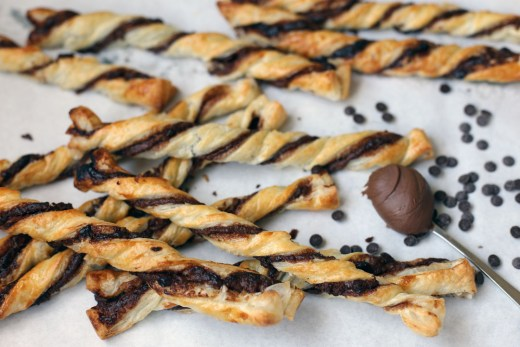 Nutella and Chocolate Chips Twist 2