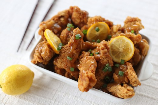 Asian Style Lemon Chicken 2