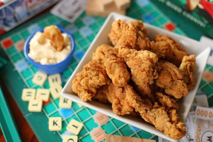 Chicken Tenders Wide