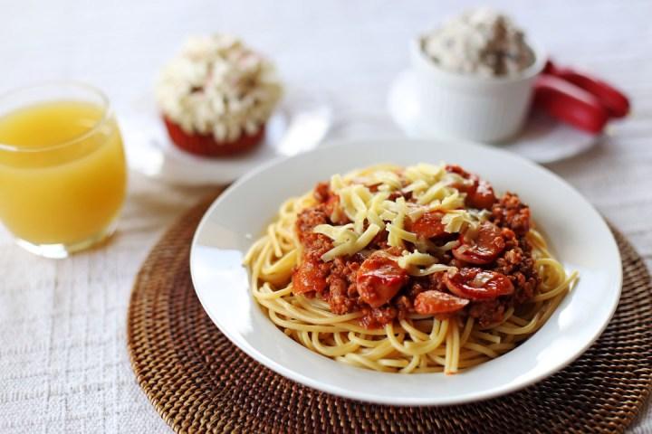 Pinoy Spaghetti Wide