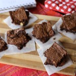 Three Ingredient Nutella Brownies 1