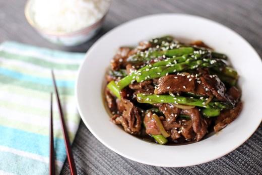 Beef and Asparagus Stir Fry 2
