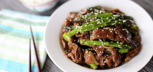 Beef and Asparagus Stir Fry 2
