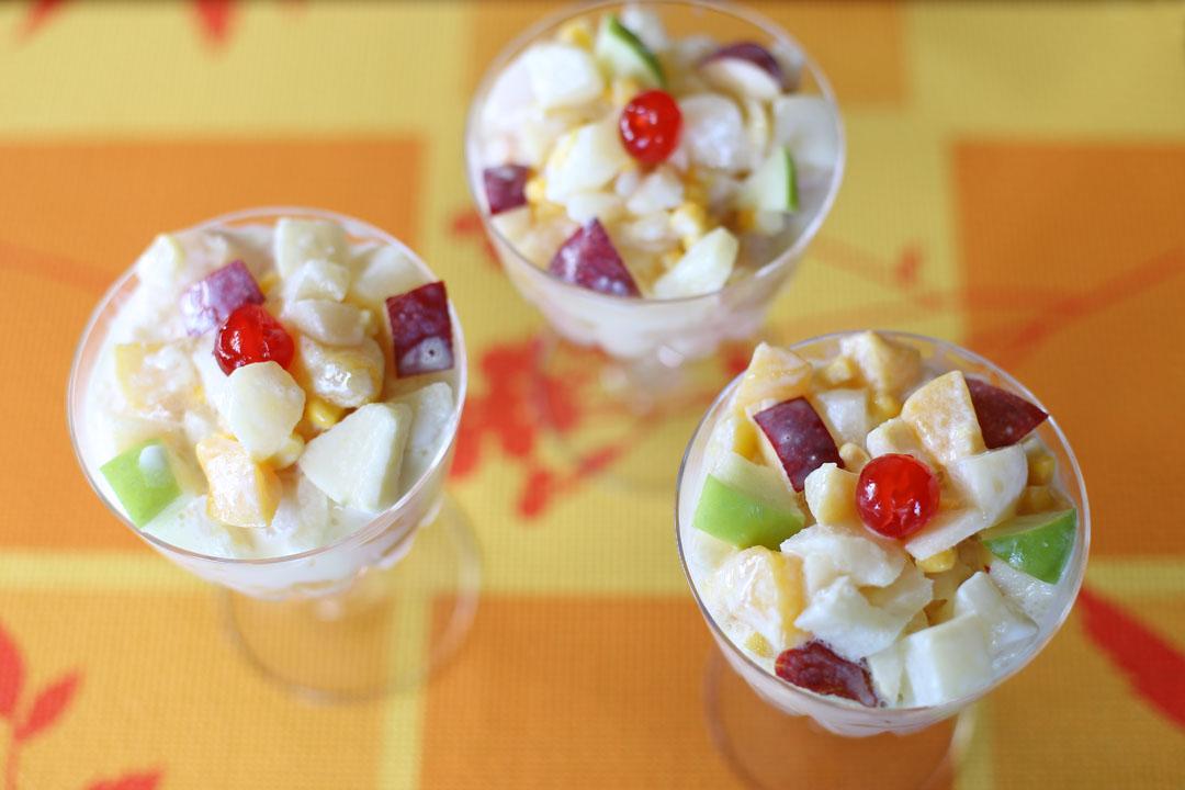 Filipino Fruit Salad Ang Sarap