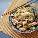 Cabbage and Squid Stir Fry 1