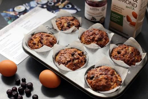 Easy Jam Muffins 1