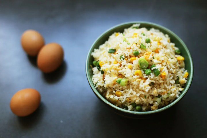 Egg Fried Rice Wide