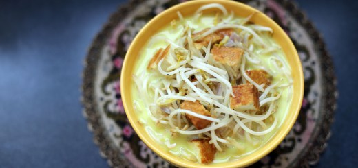 Tofu and Bean Sprout Braise 1