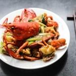Cantonese Style Ginger Scallion Lobster 1