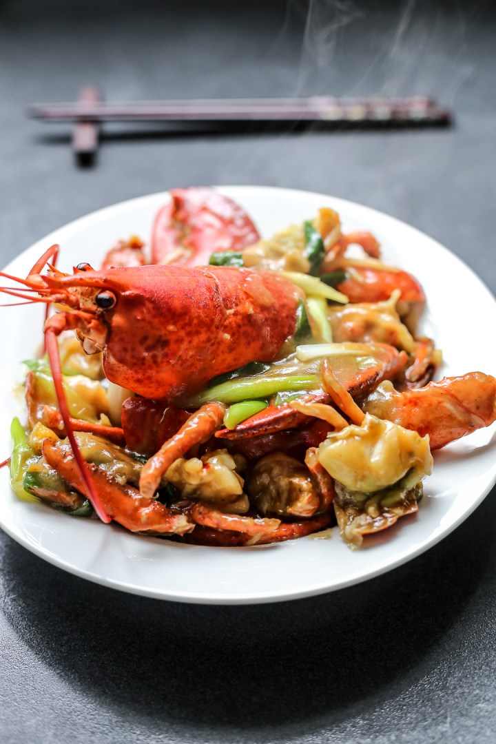 Cantonese-Style Ginger Scallion Lobster