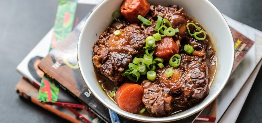 Asian Style Braised Ox Tail 2