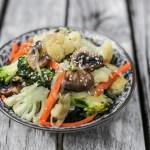 Cauliflower and Broccoli Stir Fry 1