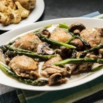 Creamy Chicken with Asparagus & Tarragon 1